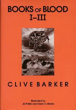 books blood barker clive volume