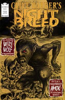Night Breed 18 cover