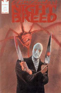 Night Breed 1 cover